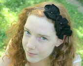 Eco Friendly CUSTOM Hair Garland Head Band Recycled Tshirts You Choose Colors