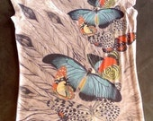 The Butterfly Summer Fashion Special Design Tshirt one side printed