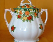 Ahrenfeldt Royal Saxe Sugar Bowl Circa 1896-1910