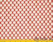 Amy Butler - Lotus - Full Moon Polka Dot in Cherry - 1 yard