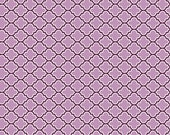 Joel Dewberry - Aviary 2 - Lodge Lattice in Lilac - 1/2 yard