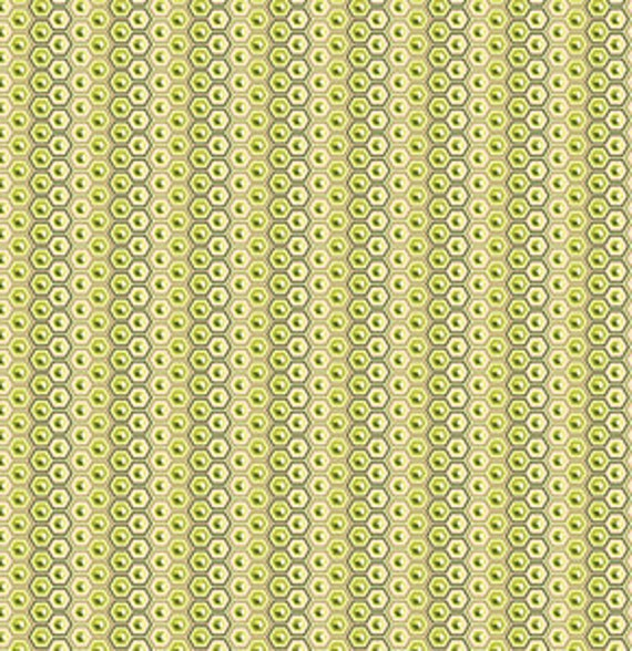 Tula Pink - PRINCE CHARMING - Hex Box in Olive - Fat Quarter FQ