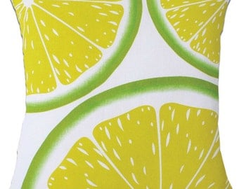 limes decorative cushion covers
