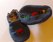 Cute Denim Shoes in Sizes 0-12 Months
