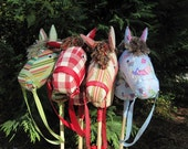 Handmade Hobby Horse - Christmas Toy