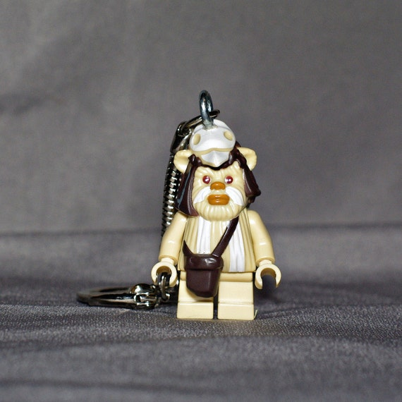 Ewok LEGO key chain