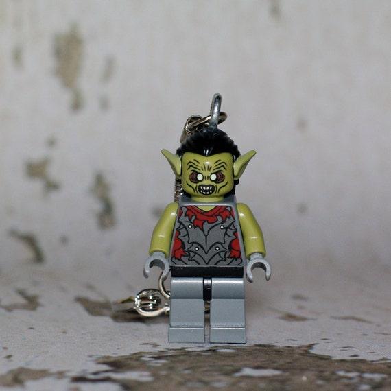Orc LEGO key chain