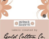 Shipping and Return Address Labels