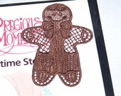 Gingerbread Man Bookmark teachers gifts student gifts  Book Club  set of 12