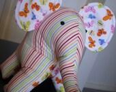 Elephant Handmade Plush Toy - Emily