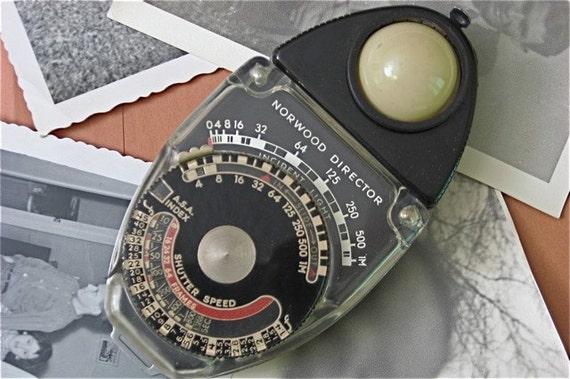 Vintage Norwood Director Exposure Meter Model C