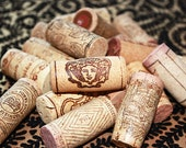 80 Corks from Wine and Champagne Bottles