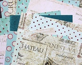 "SALE: 6""x6"" Prima Papers by Iron Orchid Designs, double-sided for Scrapbooking, Card Making and Paper Crafts"