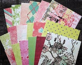 "SALE: Prima 4""x6"" Papers by Iron Orchid Designs for Scrapbooking, Card Making and Paper Crafts"
