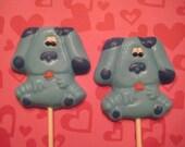 24-Blues Clues Chocolate Lollipop Favors
