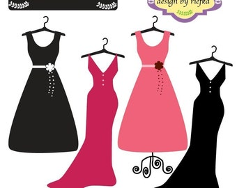 Popular items for dress clipart on Etsy