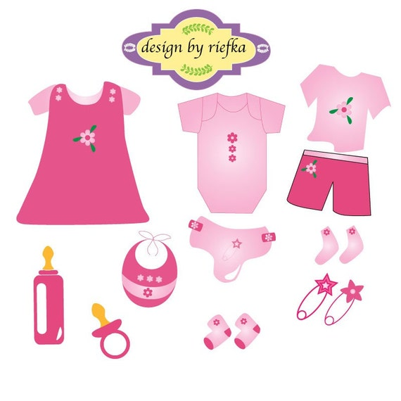 baby clothes clipart free - photo #10