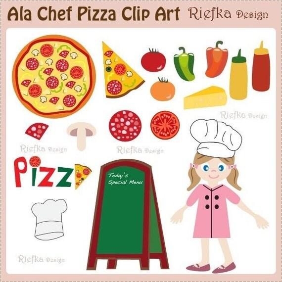 Ala Chef Pizza Clip Art