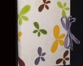 Handmade photo album multicolored butterflies batik paper original gift for birthday children scrapbook