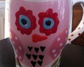 Travel Mug- Owl Whoo do you love