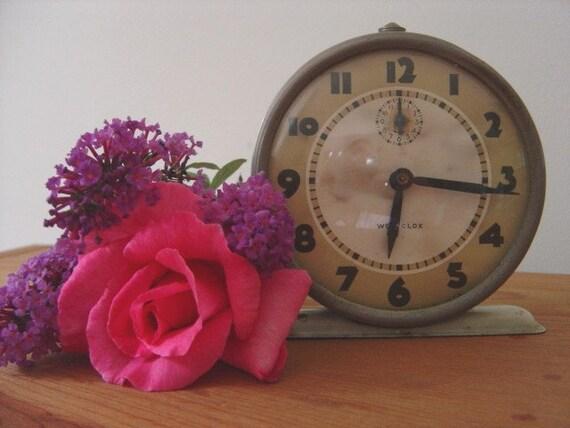 Vintage 1954 Westclox Alarm Clock Bingo
