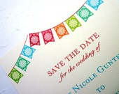 Mexican Fiesta - Save the Date sample