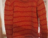Coraline Stripe Sweater for 5-6 youth Girl