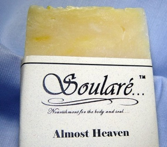 Almost Heaven Classic Floral / super Moisturizing Luxury Olive Oil  bar soap