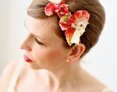 One-of-a-Kind Vintage Flower Headpiece/Headband, Easter, Mother's Day, Wedding, Bridal
