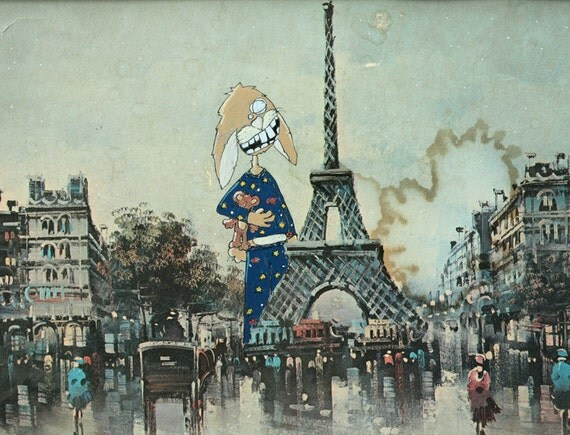Dreams of Paris 8.5 x 11 Print