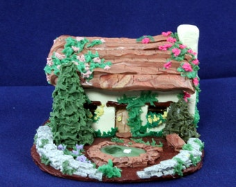 Water Lily Cottage - Miniature Cottage or Fairy Home