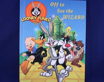 Personalized Children's Book - Looney Tunes (CIJ Sale - Free Shipping)