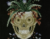 Golden Psyche counted cross-stitch chart
