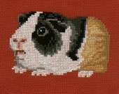 Guinea Pig counted cross-stitch chart