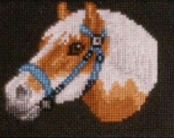 Pony counted cross-stitch chart