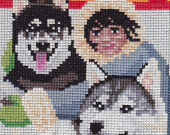 Friends From The North counted cross-stitch chart