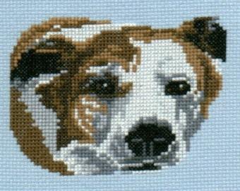 Mix Breed Dog counted cross-stitch chart