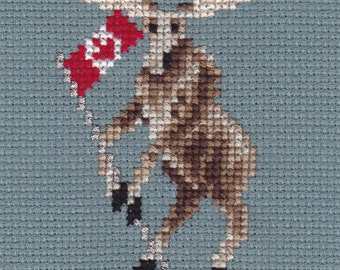 Proud 2 B Canadian counted cross-stitch chart