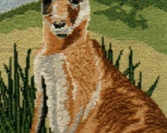 The Grey Kangaroo counted cross-stitch chart