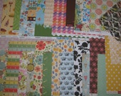Scrapbooking DESTASH Pattern Paper Set 4