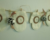 12 Day Ivory Mitten Advent Count Down