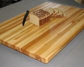 "Solid Maple Edge Grain BUTCHER BLOCK, counter top, table top 18x24x1.25"""