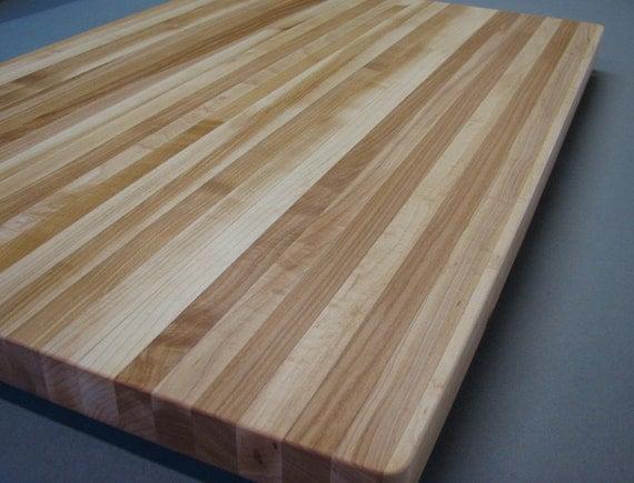 butcher block maple cutting board edge grain 24 x