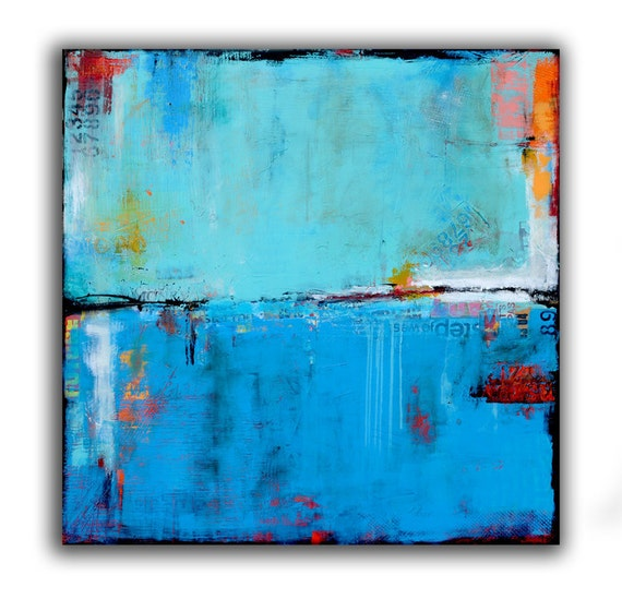 Original Painting GIANT ABSTRACT 60x60