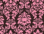 Dandy Damask in Cocoa, Michael Miller Fabrics, 1 Yard
