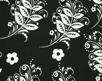 Home Decorator Fabric by Vicki Payne, Branches in Black and White, For Your Home, 1 Yard