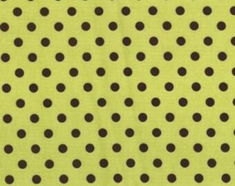 Michael Miller Fabric, Dumb Dot in Apple, 1 Yard Total