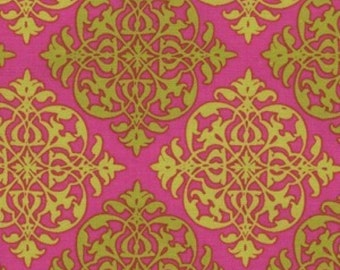 Michael Miller Fabric, Best Friend in Peony, 1 Yard Total