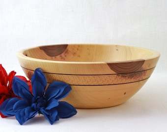Wooden Elm Bowl/Dish Hand turned