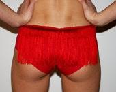 Fringe Booty Shorts